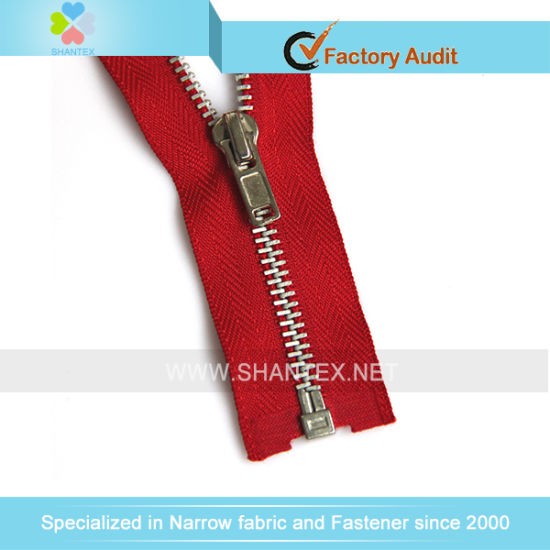 No. 8 Alu. Zipper Open End Autolock