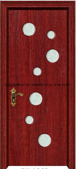 American Latest Design PVC Interior Wooden Doors (EI-P171) pictures & photos