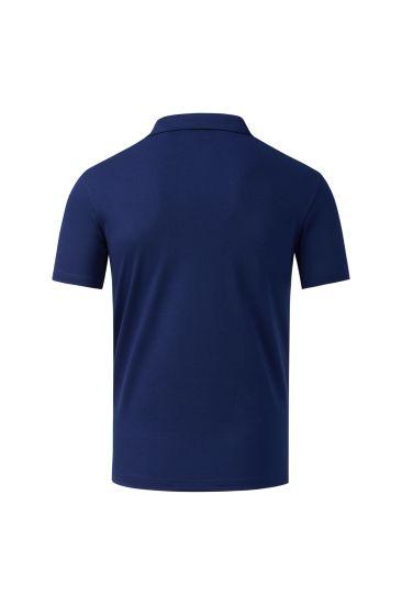 Manufacturer with Custom Design Comfort Soft 100% Cotton Men′ S Double Mercerized Stripe Polo Shirt