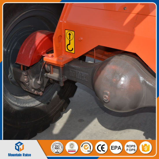China Mini Wheel Loader with Spare Pare Tire 17.5-25 pictures & photos