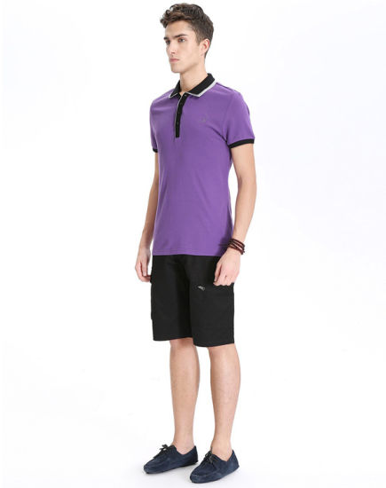 Wholesale Adult Slim Fit Polo Shirts pictures & photos