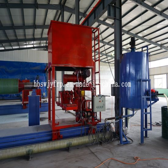 China GRP Pipes Production Line by Filament Winding Machine