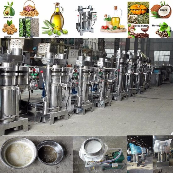 Ce Quality White Sesame Almond Peanut Hydraulic Oil Press Expeller pictures & photos
