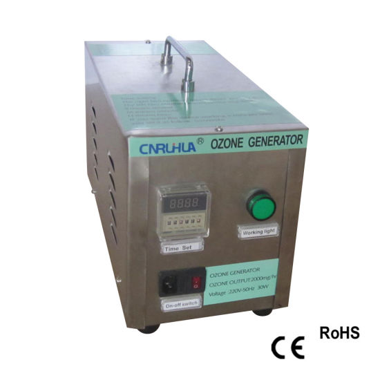 China 220VAC 3G/Hr Portable Ozone Generators for Water
