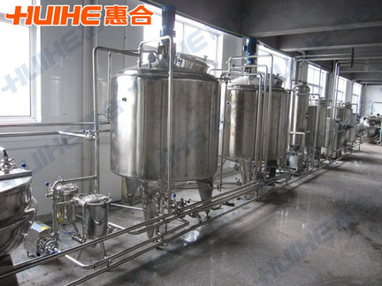 Dairy Equipment (Full Line for Producing Milk)