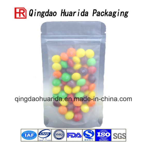 Stand up Aluminnum Foil Packing Bag Plastic Food Package Pouch pictures & photos