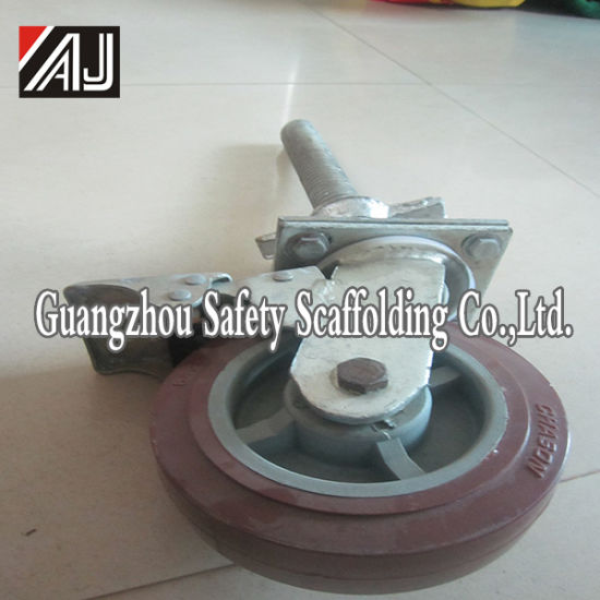 Adjustable Scaffolding Castor Wheel pictures & photos