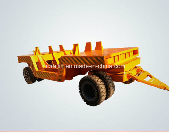 Steel Plant Used Material Handling Transport Trolley pictures & photos