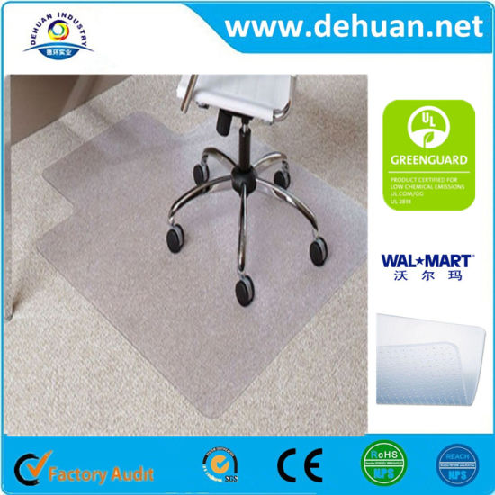 1cc42b49465 Personalised Clear Plastic Floor Mats for Home Carpet Cover for Office Chair  pictures   photos