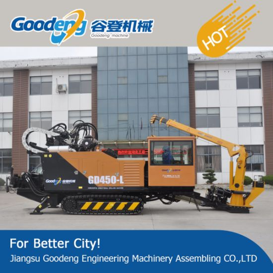 GD450A-LS no-excavate trenchless machine horizontal directional drilling rig