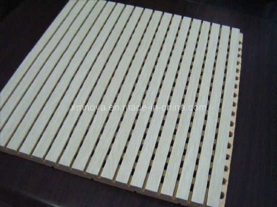 Decorative Materials Sound Proof Acoustic Panel with Melamine Surface