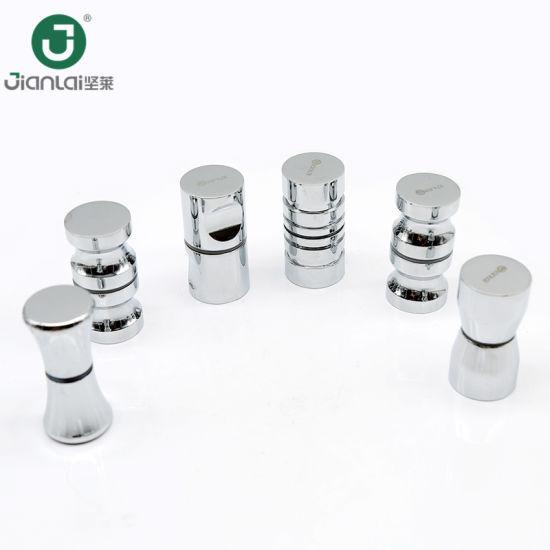 China Bathroom Door Knobs Shower Room Glass Door Handles