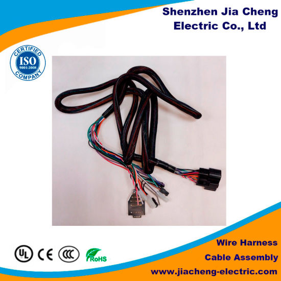 china wiring harness manufacturer produces custom cable assembly rh jiacheng electric en made in china com  electrical wire harness manufacturing process