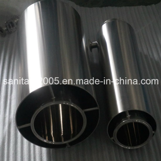 Stainless Steel Sleeve Jacketed Tri-Clamp Pipe Spool