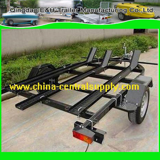 Manufacturer Supply Steel and Galvanized 3 Rail Motor Trailer (CT0302P) pictures & photos