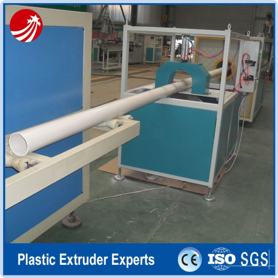 China Flared End PVC Water Supply Pipe Production Extrusion