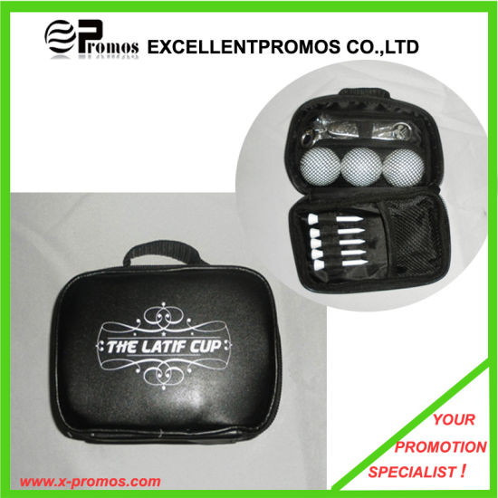 Promotional Golf Gift Set in Leather Bag (EP-G9023) pictures & photos