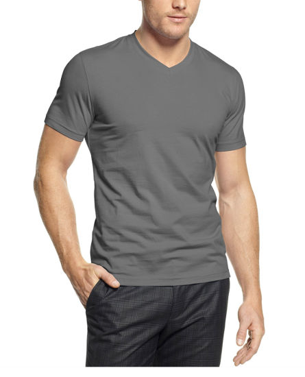 88c3f41c China Wholesale Cotton Custom T-Shirts V Neck Men T Shirt - China T ...