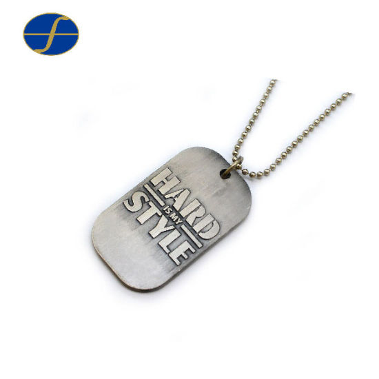 Promotion Gift Metal Stamping Custom Dog Tag for Souvenir
