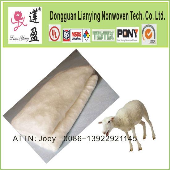China 100 Natural Wool Battingpaddingwadding For Quilt China