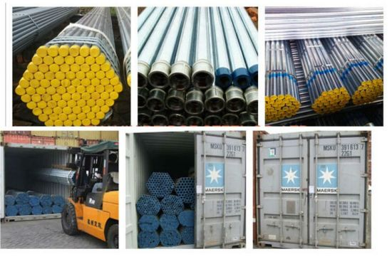 Hot Sale Welded Steel Pipe for Construction pictures & photos