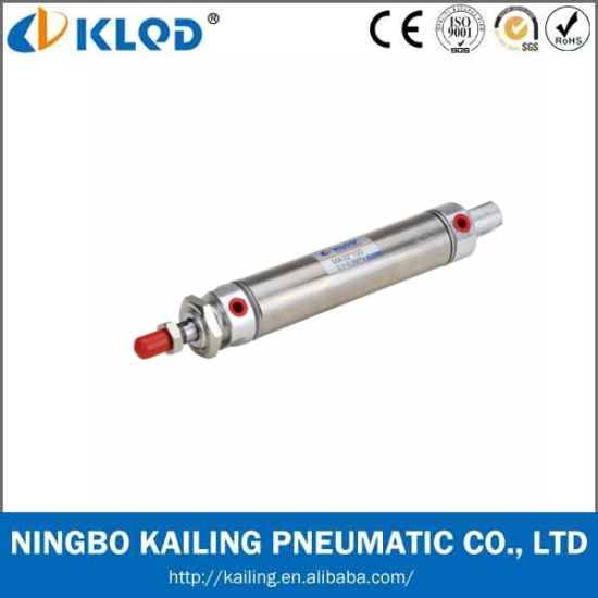 ISO6432 Standard Stainless Steel Mini Air Cylinder (MA25X100) pictures & photos
