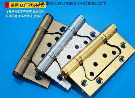 Wooden Door Hinges, Mother and Child Hinges, Door Hinges, Stainless Steel Hinges, Brass Hinges, Hy1002 pictures & photos
