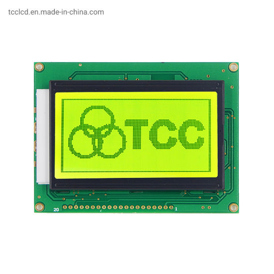 Wholesale 128X64 LCD Display Aip31107 Control Dots White/Yellow-Green/Blue Stn 12864 Graphic LCD Module Panel