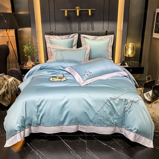 6PCS Luxury 1200tc Egyptian Cotton Bed Sheet Comforter Set Bedding