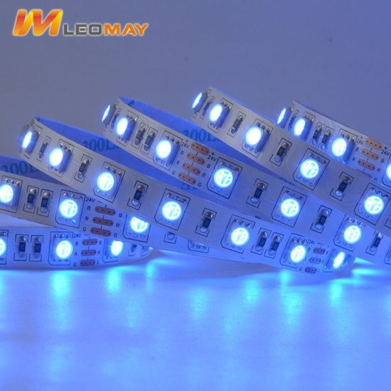24V 14.4W SMD5050 Non-Waterproof Flexible RGB LED strip Light