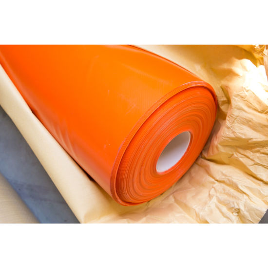 PVC Coated Tarpaulin Fabric/Cloth, 600d*600d, for Lumber Covering