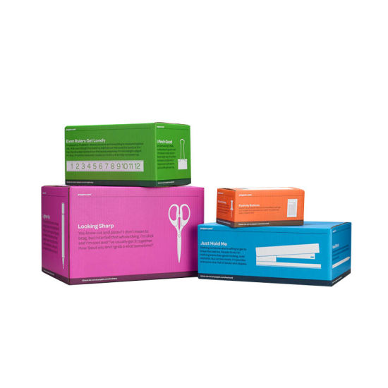 Factory Direct Foldable Paper Moving Carton Corrugated Packaging Box