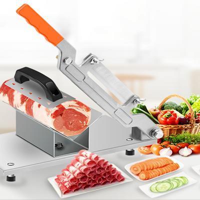 Horus Manual Meat Slicer Cut Lamb/Beaf/Vegetables Slicer Machine Frozen Meat Cutter