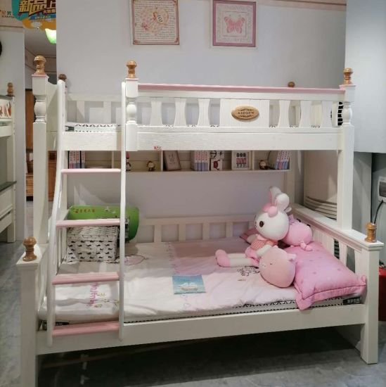 China Safety Bunk Bed Boy And Girl With Cabinet Ladder Set China Bed Set Bunk Bed