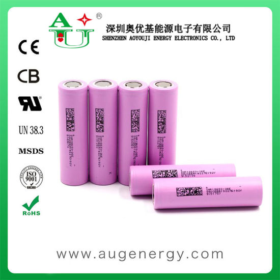 Rechargeable Li-ion 2600mAh Lithium Battery Cell for High Discharging Rate