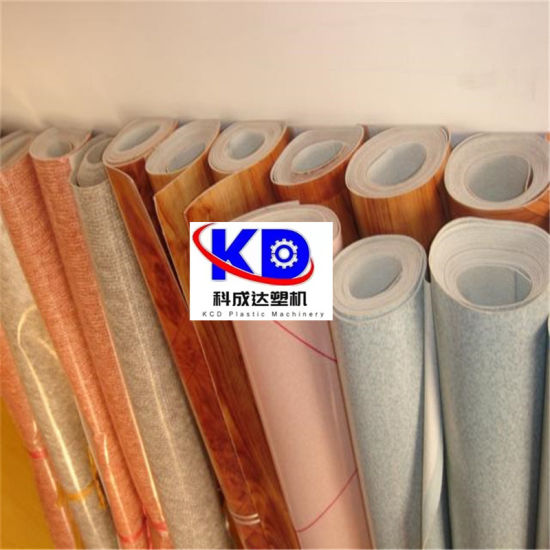 PVC Wide Floor Leather Waterproof Rolls Extrusion Line PVC Roll Soft Waterproof Flooring Machine Line