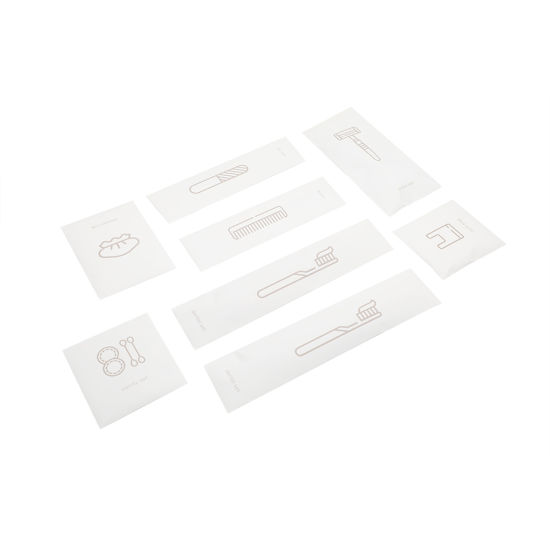 High Quality Hotel Amenities with Customized Logo