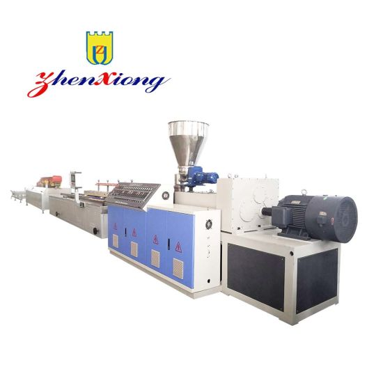 High Quality PVC UPVC WPC Window and Door Profile Production Line