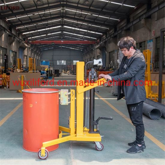 Eagle Grab Hydraulic Manual Drum Porter Drum Lifter with Scales