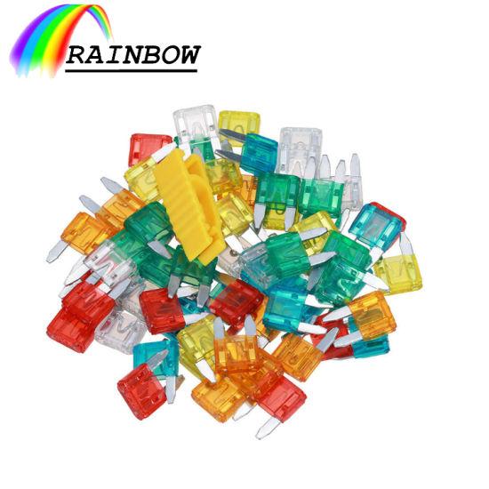 China Factory Colorful Package Custom Automotive Fuse Car 2A/3A/5A/7.5A/10A/15A/20A/25A/30A/35A