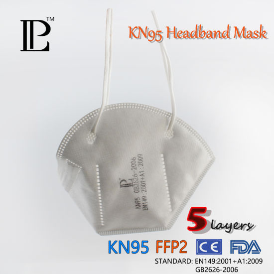 New Product Custom Breathing 5 Ply Kn95 Disposable Face Respirator Mask