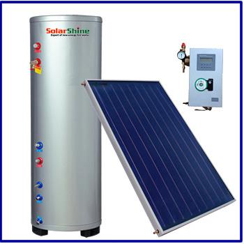 Flat Plate High Pressure Split Blue Absorber Solar Water Heater
