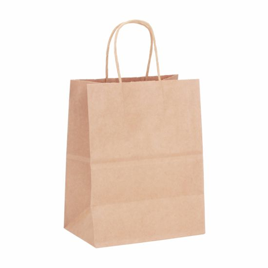 Kraft Paper Bags -Paper Gift Bags -Small Kraft Bags -Candy Bags -Flat Kraft Bags -Decorative Paper Bags -Packing Paper Bags pictures & photos