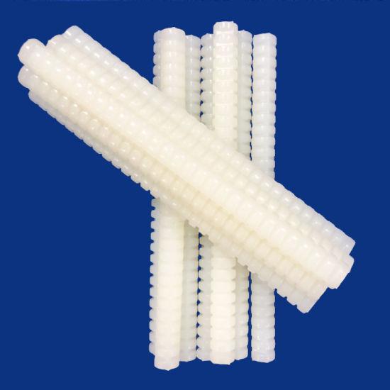 White Spiral Hot Melt Glue Sticks