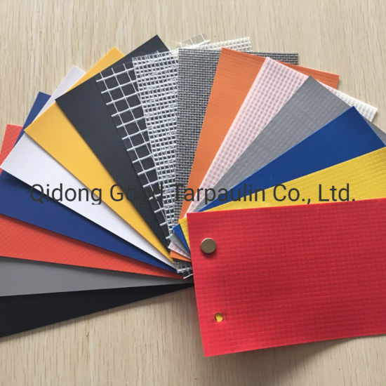 Waterproof UV Resistant Flame Retardant PVC Coated Polyester Canvas Truck Car Trailer Tent Awning Camping Tarpaulin Fabric