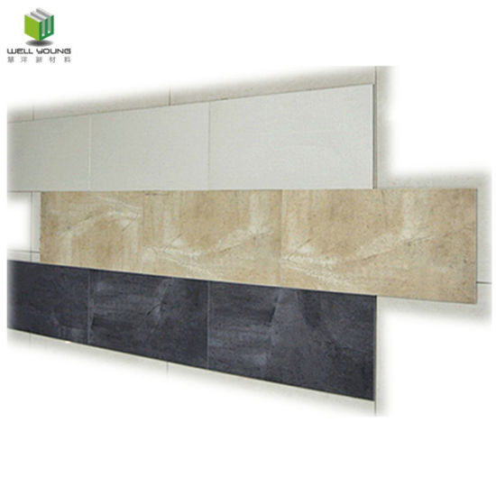 Wellyoung Waterproof Easy Installation Luxury Vinyl Tile pictures & photos