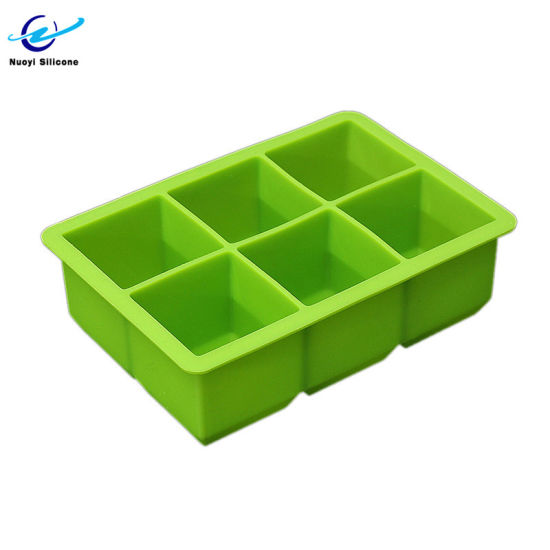 Square Shape Food Grade Ice Maker Silicone Ice Mold