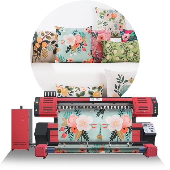 Digital Sublimation Home Textile Printing Machine for Cotton Linen and Polyester Fabric Printing