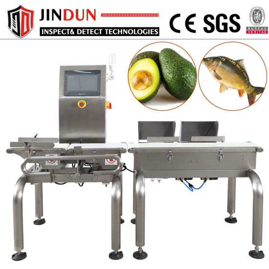 Touch Screen Belt Conveyor Check Weigher for Food Production