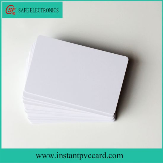 Cr80 Size Blank Inkjet Printed ID Card for Business Card
